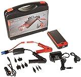 POWERALL Rosso Batterie Portable avec Aide au démarrage pour Voiture, avec indicateur de Niveau de Batterie et de Chargement, Rouge/Noir