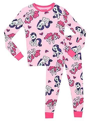 Mon Petit Poney - Ensemble De Pyjamas - My Little Pony - Fille - Bien Ajusté - 3 a 4 Ans