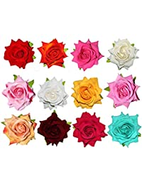 3dc49999e Paradise® Flower Hair Accessories For Women, Girls And Kids Girls  Multi-Color Flower