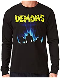 35mm - Camiseta Hombre Manga Larga . Demons - Long Sleeve Man Shirt