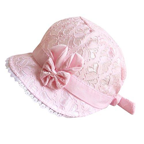 Colorful TM Baby Mütze Kindermütze Kids Kappe Baby Mädchen Sommer Hut,Anzug für 0-6 Monate Baby (Rosa) Mädchen Hut