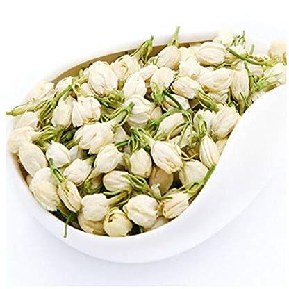 Blumen-Tee-50g-011LB-Jasmin-Blumentee-Vorfrhling-100-natrlicher-organischer-blhender-Krutertee-Gesundheitswesen-Jasmin-blht-Tee-duftenden-Tee-chinesischen-Tee