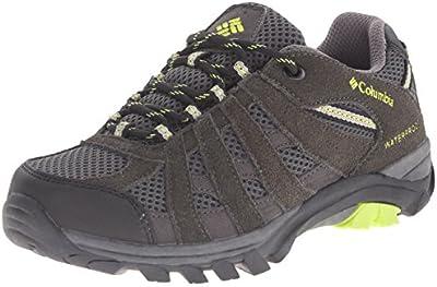 Columbia YOUTH REDMOND EXPLORE WATERPROOF - zapatillas de trekking y senderismo de piel Niños^Niñas