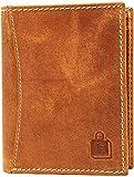 Le Craf Tan Genuine Leather Men's Boys Wallet Purse (W9808514)
