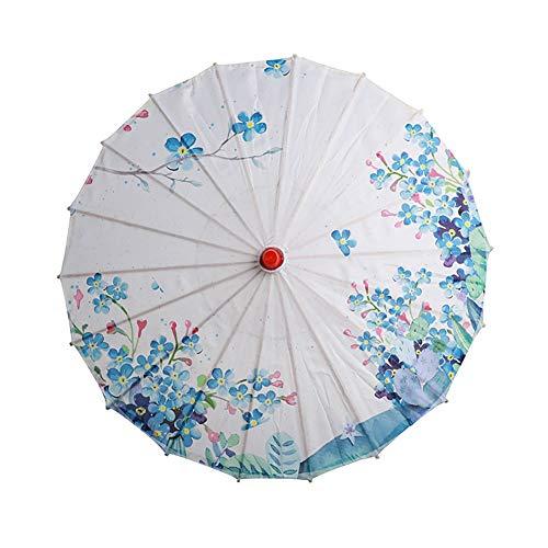 Ferien Tanz Performance Kostüm - Smilikee Art Picture Print Paper Umbrella
