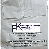 Estrich Zusatzmittel 500 Gramm Polypropylen Fasern zur Vermeidung von Schwundrissen