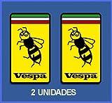 PEGATINAS STICKERS VESPA ITALY REF: DP224 AUFKLEBER DECALS AUTOCOLLANTS ADESIVI MOTO DECALS 5 CM ANCHO/WIDTH