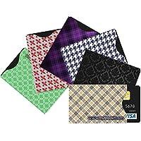 BLOCKIT Porta carte di credito con tecnologia RFID (confezione da 6), protegge le carte di credito, in viaggio tranquilli, include sicurezza eBook Designer Side Load