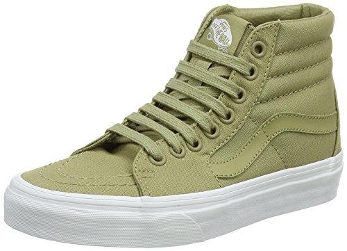 Vans Sk8-hi Sneaker a Collo Alto Unisex-Adulto, Verde (Mono Canvas) 42 EU