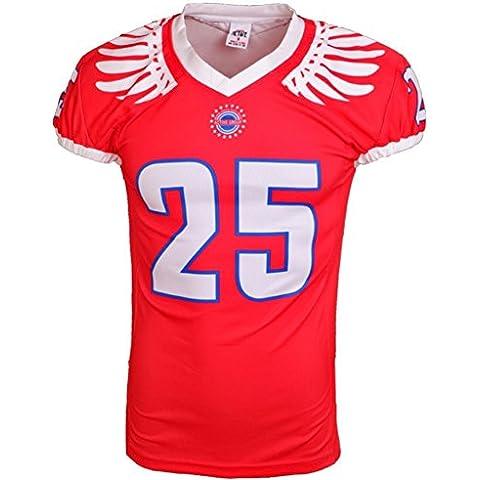 Deportes Ropa Corlor camiseta de fútbol roja americana