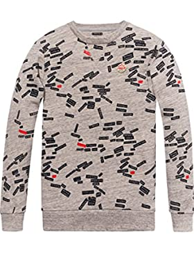 Scotch & Soda All-Over Printed Sweat, Sudadera para Niños