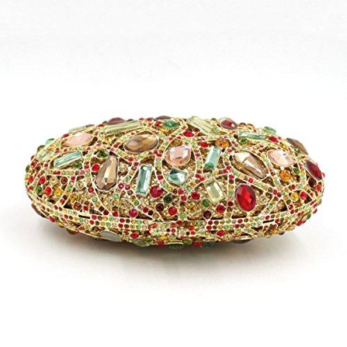Damen-Luxus-Diamant-Tasche Abendtasche Bankett-Paket OneColor