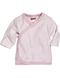 Schnizler Wrap-Around Shirt Long Sleeve Striped - Camisa Bebé-Niños