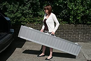 6ft long Portable Folding Suitcase Ramp for Wheelchairs or Scooters