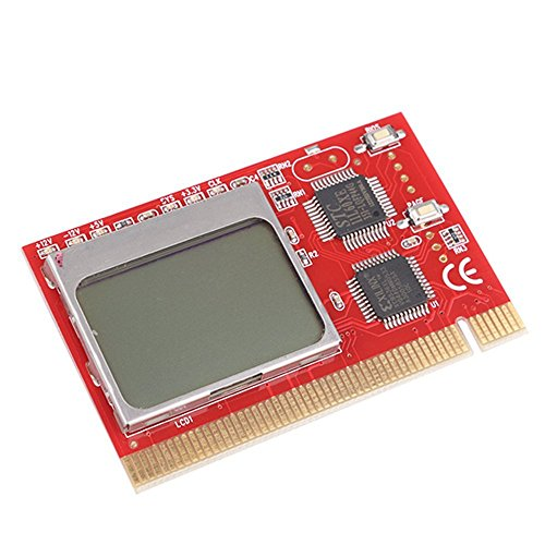 Buyyart New LCD PCI PC Computer Motherboard Analyzer Tester Diagnostic Card With User Manual  available at amazon for Rs.879