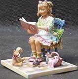 Paintbox Poppets 'Story Corner' Edizione limitata da collezione ornamento (A119)