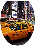 Sticker Autocollant Abattant WC New York Taxi 35x42cm SAWC0068