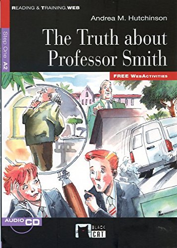 The Truth About Professor Smith+cd (Black Cat. reading And Training) por De Agostini Scuola Spa