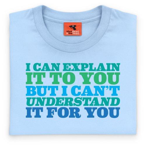 Explain T-Shirt, Herren Himmelblau