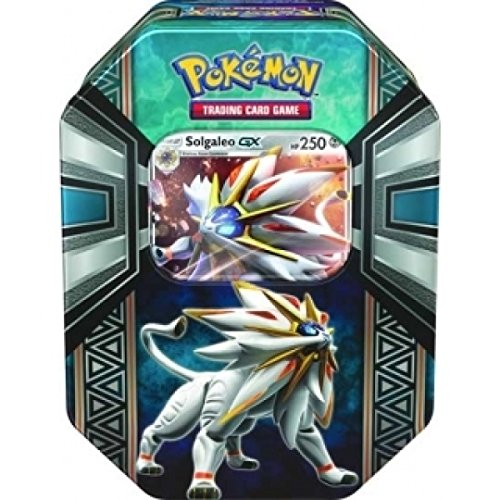 Pokemon - 1x Solgaleo-GX Tin Box - Frühjahr Tin 2017 - Deutsch