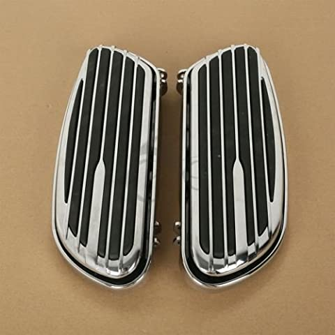 Tengchang Chrome Floor Boards For Harley Davidson FLH Touring FLST Softails 1986-2015 14