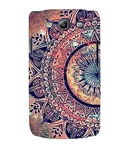 FUSON Floral Oriental Pattern Ornament 3D Hard Polycarbonate Designer Back Case Cover for Samsung Galaxy S3 I9300 :: Samsung I9305 Galaxy S Iii :: Samsung Galaxy S Iii Lte
