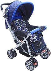Notty Ride Baby Pram (Blue)
