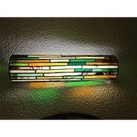 Lámpara aplique de pared en cristal y soldadura