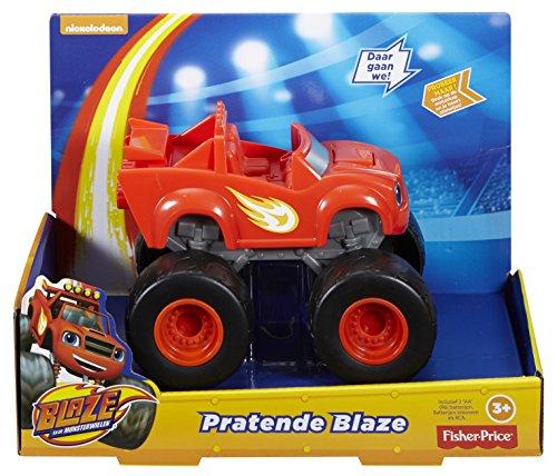 Fisher-Price Blaze and The Monster Machines DXB67 De plástico vehículo de Juguete - Vehículos de Juguete (De plástico, Negro, Rojo, 3 Año(s), Niño, Motor (de Fricción) hacia Delante, 240 mm)