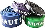 Resistance Bands für Fitness Training / Klimmzugbänder zum Trainieren für Anfänger und Profis / Widerstandsbänder für CrossFit und Yoga / Hochwertige Tragetasche und E-Guide sind inklusive - 3