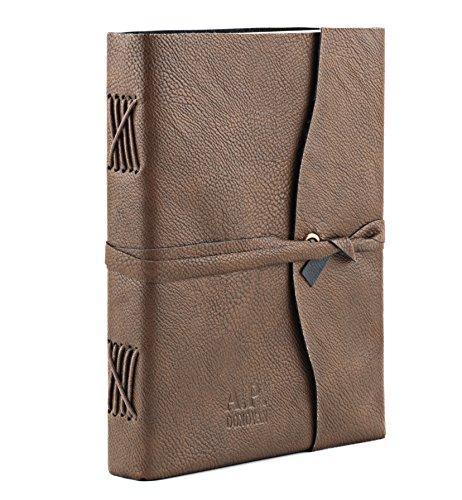 A.P. Donovan - Tagebuch | Notizbuch Kunst-Leder | leer zum Reinschreiben | Rezeptbuch | Kochbuch | Reisetagebuch | Diary (DIN A4 PU) (Gehen Din Sie Die)