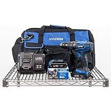 Kit Hyundai - HY-COMBO-1-2 - Taladro Percutor 18V + 2