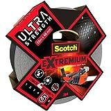 Scotch Reparatietape voor kunststoffen, 1 rol, zwart, 25 m x 48 mm