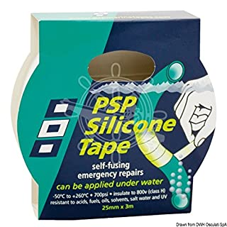 Admiral Tapes Blanking Plugs Silicone Emergency Tape 25X Black, 3M, 56179