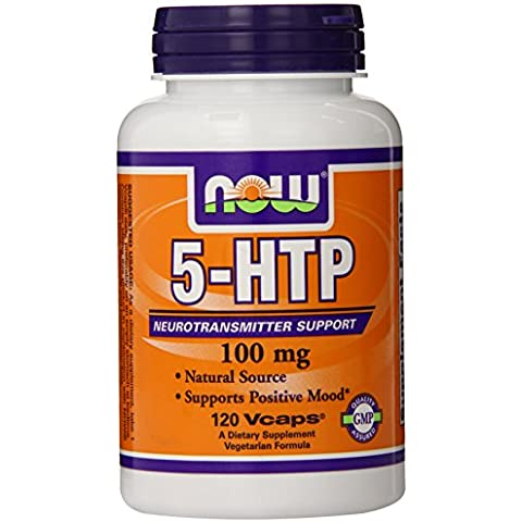NOW Foods 5 HTP - 120 x 100mg VCaps