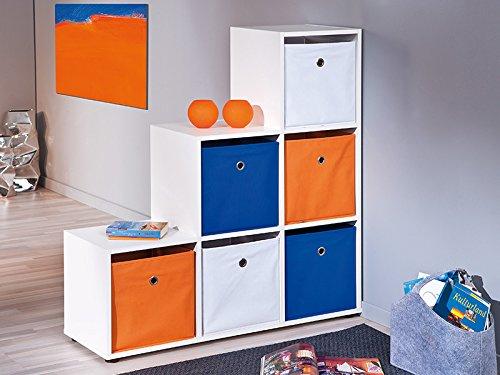 Links Mat: Polipropilene. Dim: 32x32x31 h cm Col: Arancione Winny 4 Box