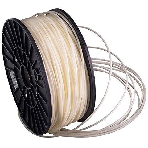 Filaments PLA pour imprimantes 3D 2 tailles: 1,75 mm ou 3,0mm par bobine de 1 kg, couleurs différentes (naturel, 1.75 mm)