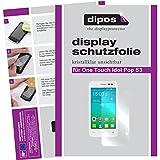 dipos I 2X Schutzfolie klar passend für Alcatel One Touch Pop S3 Folie Bildschirmschutzfolie