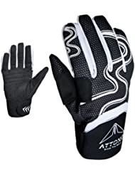ATTONO - Guantes de esquí, color - Black-and-White, tamaño S