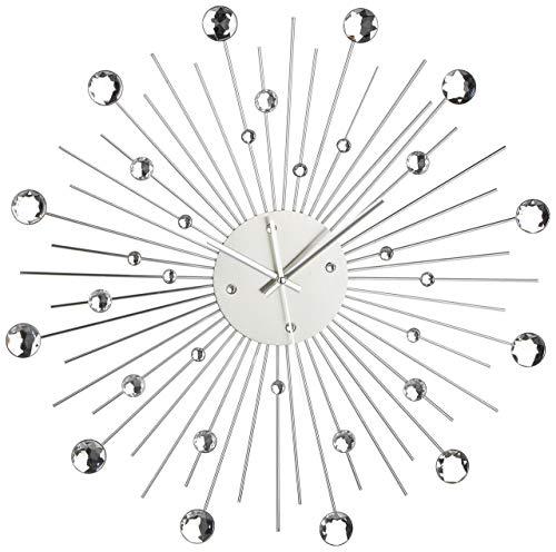 Out of the blue 79/3165 - Reloj de pared metálico diseño estrella de...