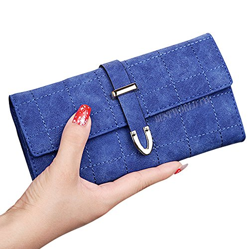 wocharm-womens-long-grid-buckle-leather-handbag-card-holder-purse-wallet-ladies-clutch-coin-case-pou