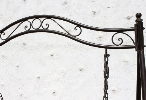 Gartenschaukel aus Metall