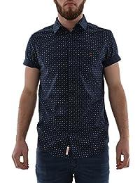 chemise manches courtes kaporal dawn bleu
