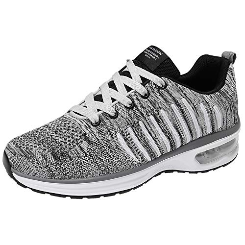 Dasongff Sneaker Herren Schwarz Atmungsaktiv Ultraleicht Fitnessschuhe Turnschuhe,Männer Laufschuhe mit Luftpolster