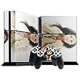 Babes 10065, Designfolie Sticker Skin Aufkleber Schutzfolie mit Farbenfrohem Design für Playstation 4 CUH 1200