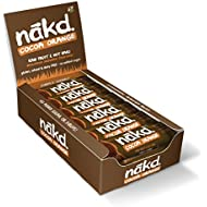 Nakd Cocoa Orange Gluten Free Bar 35 g (Pack of 18)
