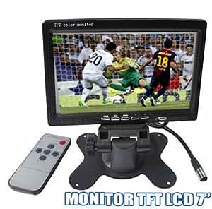 "MINI ÉCRAN MONITOR TFT LCD 7 ""pouces couleur PAL CAMERA NTSC VCD DVD GPS 290 302"