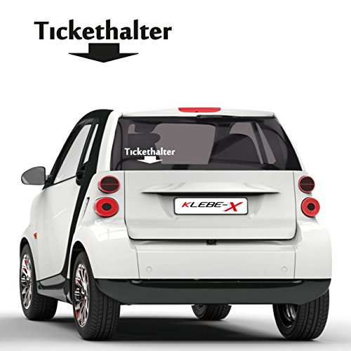 Tickethalter Kultaufkleber Tuning Sticker Klassiker JDM Motive Autotattoo KLEBE-X  F020