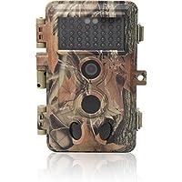 DigitNow! 16MP 1080 HD Wasserdichte Trail & Surveillance Digitalkamera mit Infrarot-Nacht-Version bis zu 65 ft in 2.4''LCD-Bildschirm 40pcs IR LED Wildlife Hunting Scouting-Kamera