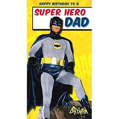 Batman Super Hero papà Compleanno Scheda